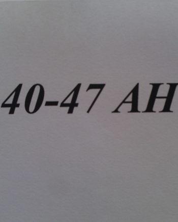 40-47 Ah-ig