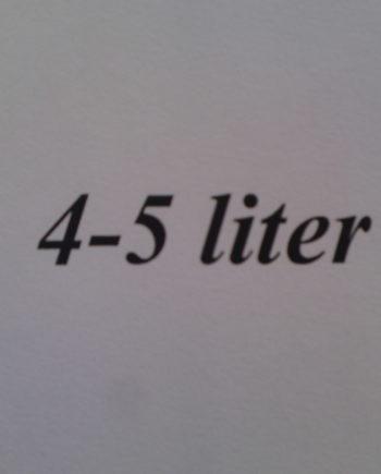 4-5 liter