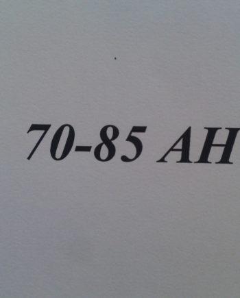70-85 Ah-ig
